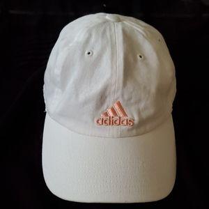 NWOT Adidas White Baseball Hat